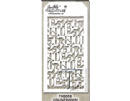 THS058 Stampers Anonymous Tim Holtz Layering Stencil - Countdown